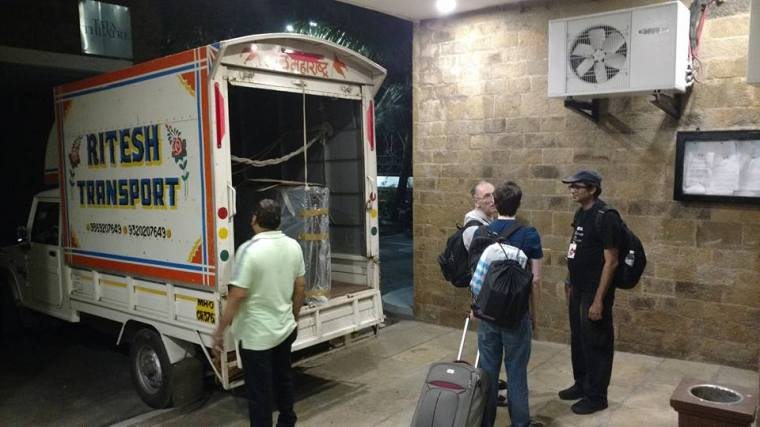 Big Fellow India - set is loaded for 3-day cross-continent drive to Delhi