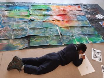 Donacarney Boy and Artwork